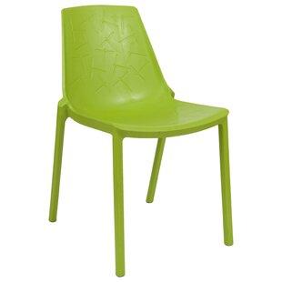 LeisureMod Clover Side Chair