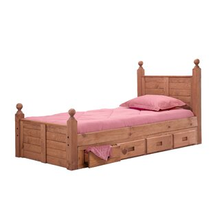 Christner Twin Four Poster Bed with Storage