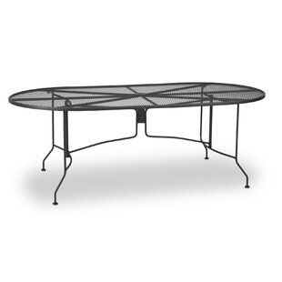 Oval Mesh Dining Table