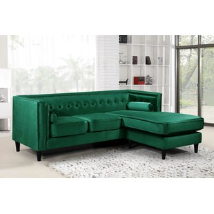 Roberta Reversible Sectional by Willa Arlo Interiors