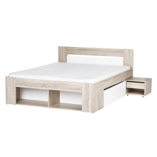 Duren Queen Storage Platform Bed with Mattress