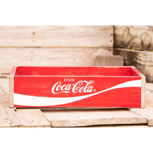 Bottle Opener /& Popcorn New Coca-Cola Wood Crate Holiday Gift Set w//Glasses