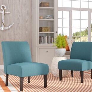 Highland Dunes Veranda Slipper Chair (Set of 2)
