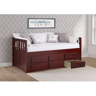 Dubbo Captains Twin Bed with Drawer by Harriet Bee