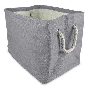 Merveilleux Gray Woven Paper Bin