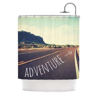 KESS InHouse Adventure Polyester Shower Curtain