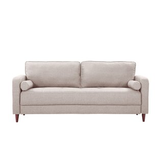 Price Check Mid-Century Modern Linen Fabric Living Room Sofa by Madison Home USA Reviews (2019) & Buyer's Guide