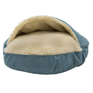 luxury cozy cave hoodeddome dog bed - Cozy Cave Dog Bed