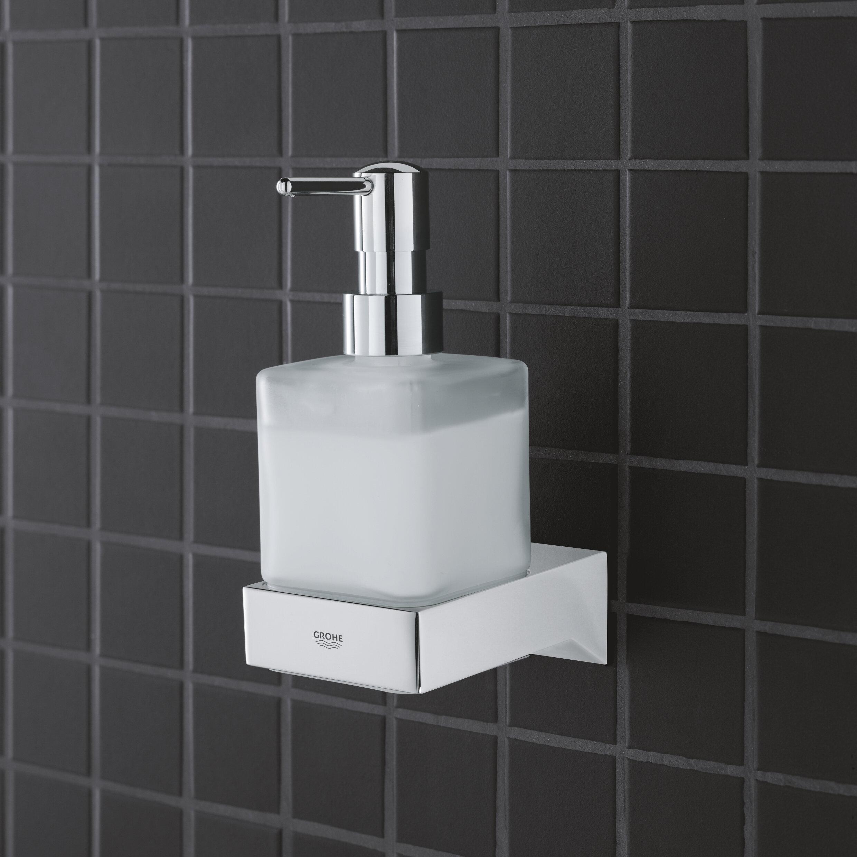 Grohe Selection Cube Soap Lotion Dispenser Reviews Wayfair