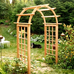 Creekvine Designs Cedar Wood Arbor