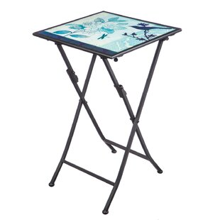 Barnum Folding Steel Bistro Table