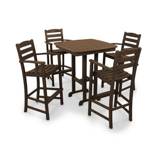 La Casa Café 5-Piece Bar Height Dining Set