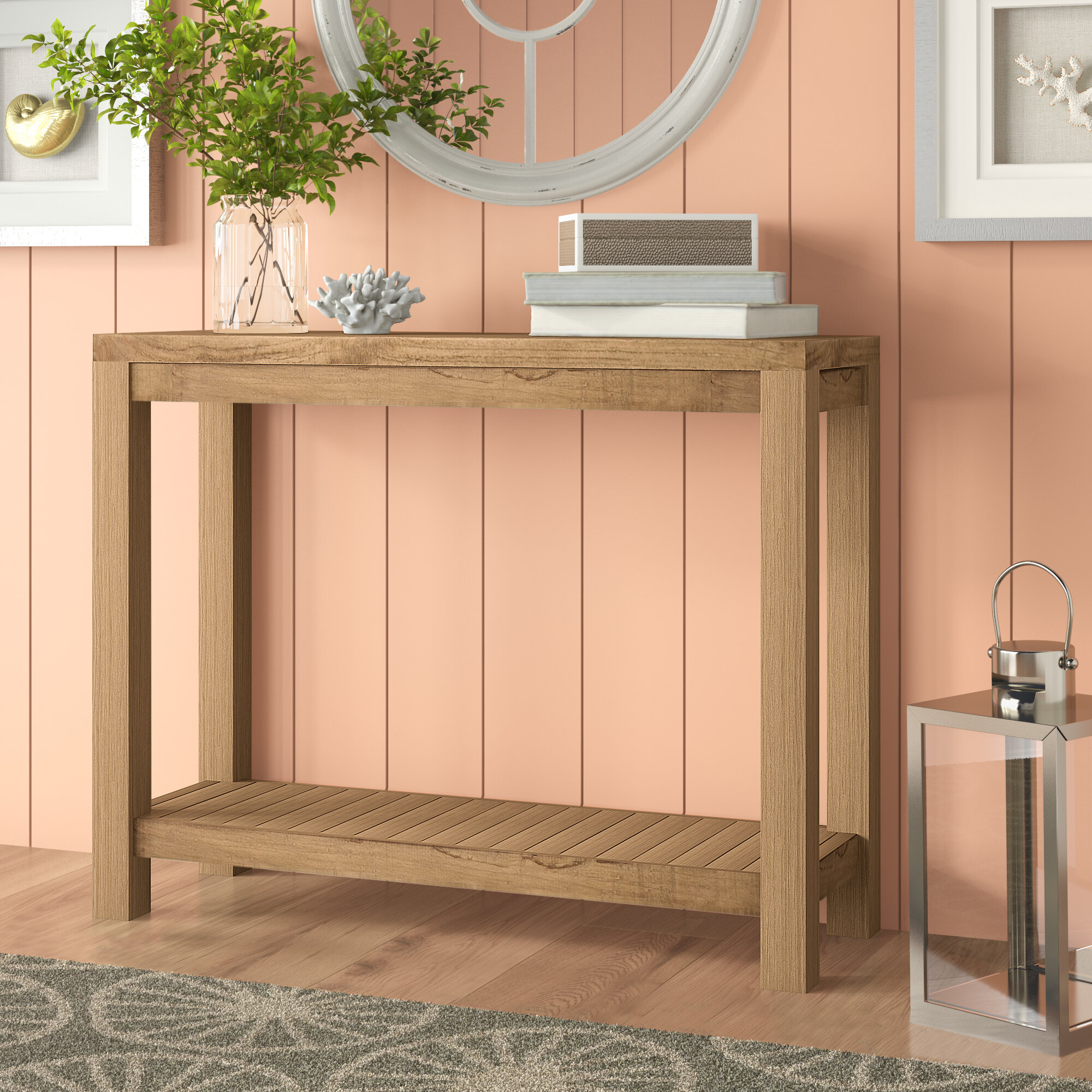 Picture of: Teak Console Tables You Ll Love In 2020 Wayfair