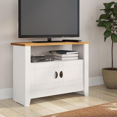 TV-Schrank Bradmoor | Wohnzimmer > TV-HiFi-Möbel > TV-Schränke | Weiß - Dunkel | Tv - Kiefernholz | Sommerallee