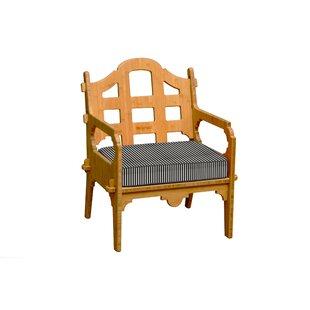 Loon Peak Burliegh Patio Chair with Cushion