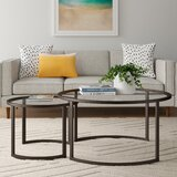 Leatherman Extendable Sled 2 Nesting Tables Coffee Table Set by Wrought Studio™