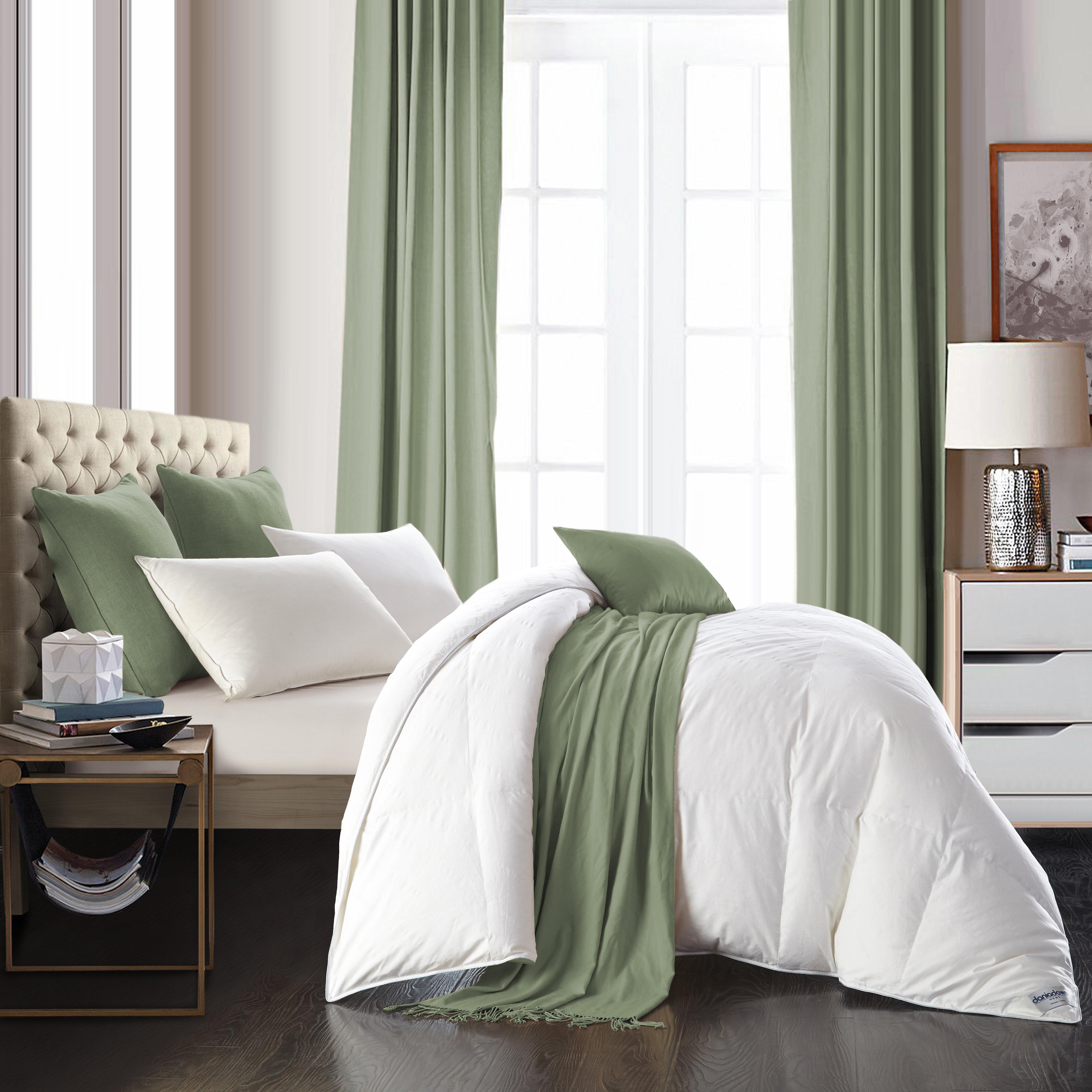 Daniadown 600 Fill Power All Season Goose Down Comforter Reviews Wayfair