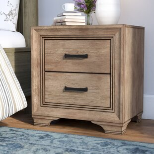 Laurel Foundry Modern Farmhouse Payne 2 Drawer Nightstand