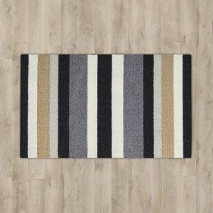 Compare prices Nesmith Black/Gray Area Rug ByAndover Mills