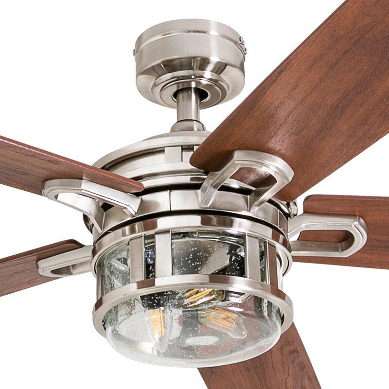 52 Rafe 5 Blades Ceiling Fan Light Kit