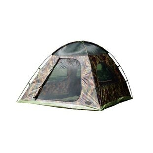 Texsport Camo Headquarters 5 Person Tent with Storage Bags