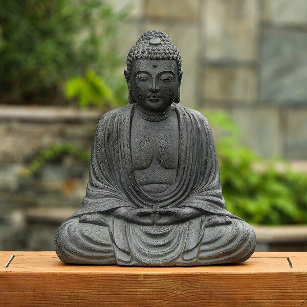 Happy Buddha Garden Statue Wayfair