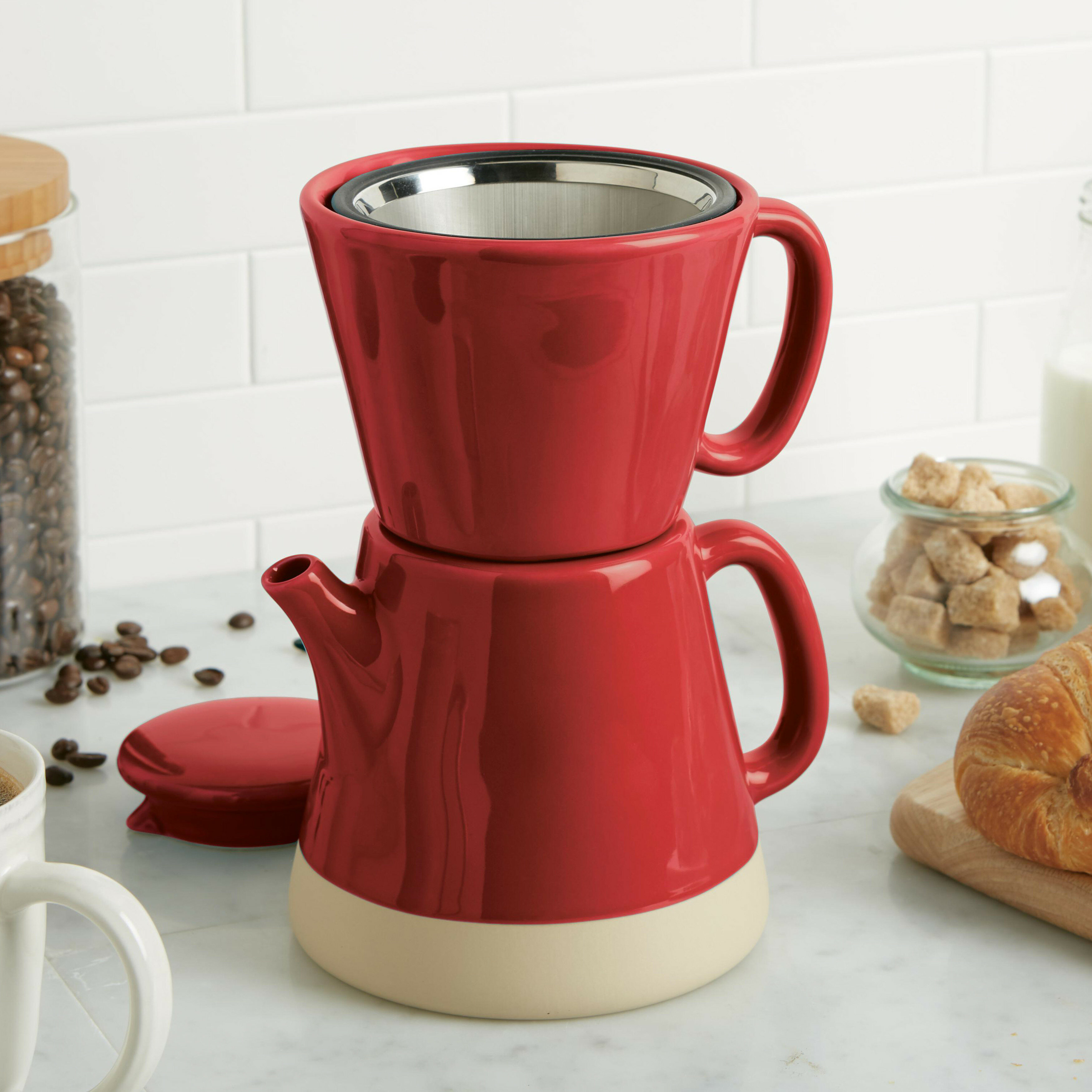 030bd26db6f Rachael Ray 5 Cup Pour Over Coffee Maker
