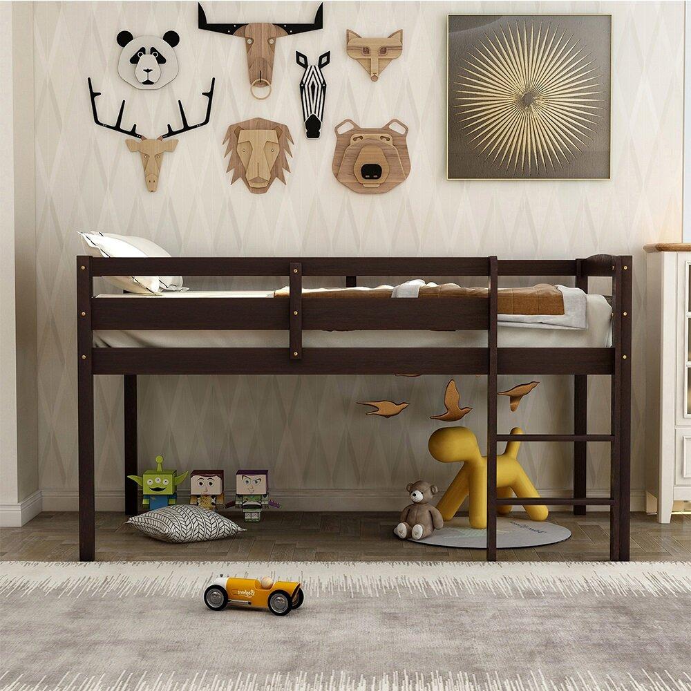 Harriet Bee Alliston Twin Loft Bed