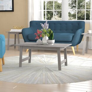 Best Reviews Kona 3 Piece Coffee Table Set By Ebern Designs