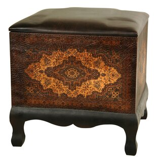 Clair Baroque Cube Ottoman