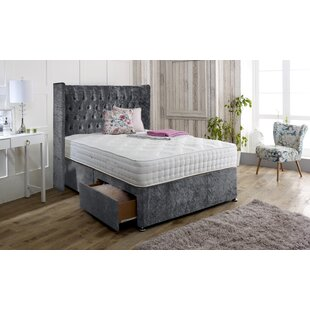 Hutchins Upholstered Divan Bed And Headboard By Rosdorf Park