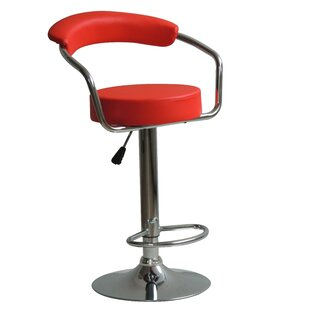 Brasher Adjustable Height Swivel Bar Stool Corrigan Studio
