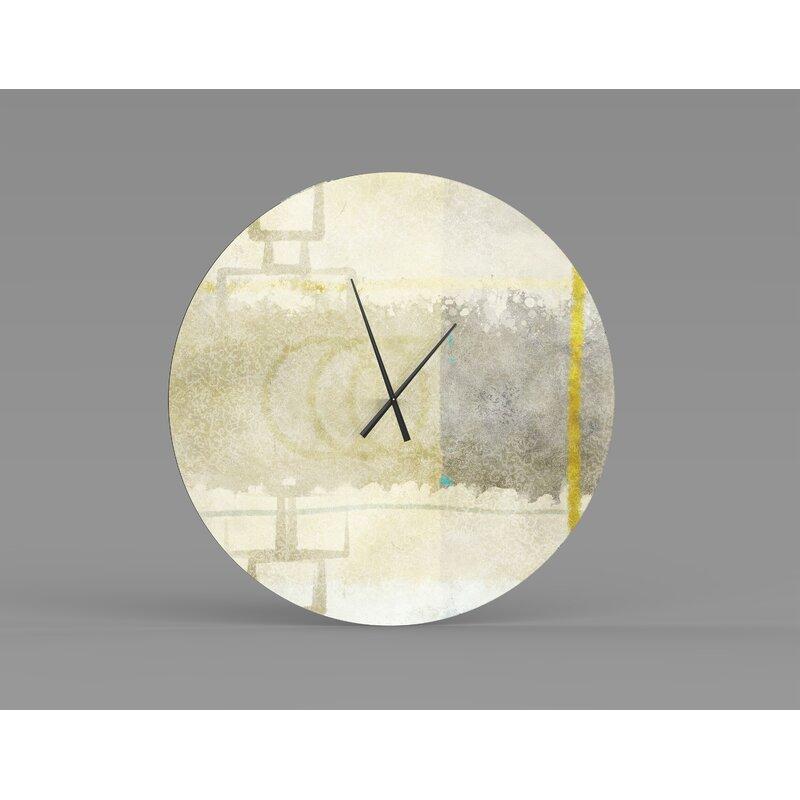 Orren Ellis Oversized Ejvind Wall Clock Wayfair