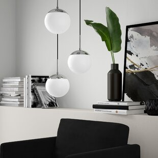 Yearby 3-Light Cluster Pendant by Mercury Row