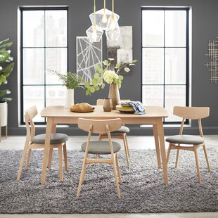 Connors 5 Piece Solid Wood Dining Set