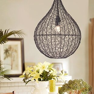 Mccowan 1-Light Teardrop Pendant by Gracie Oaks