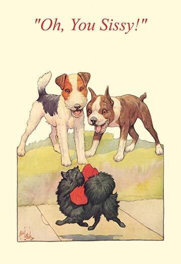 Buyenlarge Oh You Sissy By Robert Livingston Dickey Painting Print Wayfair