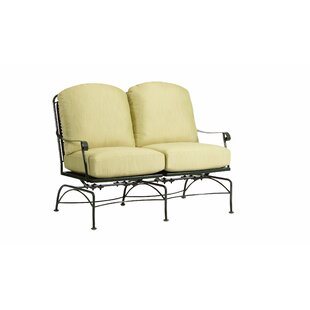 Fullerton Dual Spring Rocking Loveseat with Cushions