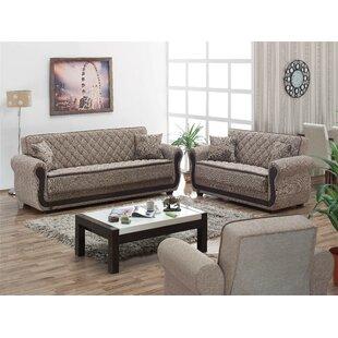 Battles Sleeper Configurable Living Room Set