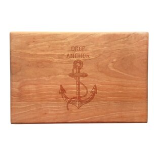 Wood Drop Anchor Artisan Cutting Board