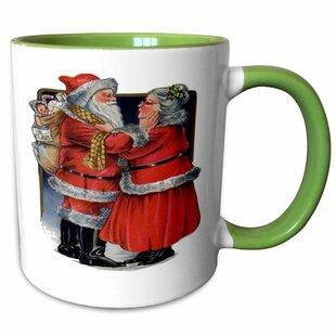 Santa Claus Coffee Mugs Wayfair Ca