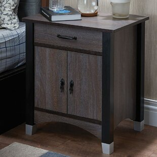 Garlington 1 Drawer Nightstand by Red Barrel Studio