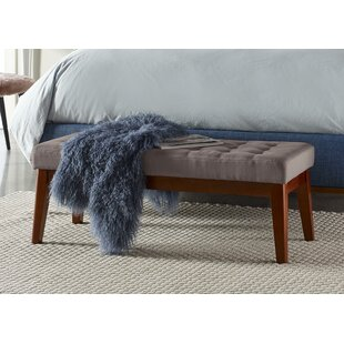 Claire Tufted Upholstered Bench by Elle Decor Best