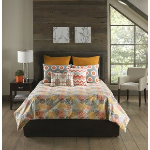 Bloomsbury Market Hahne 6 Piece Comforter Set