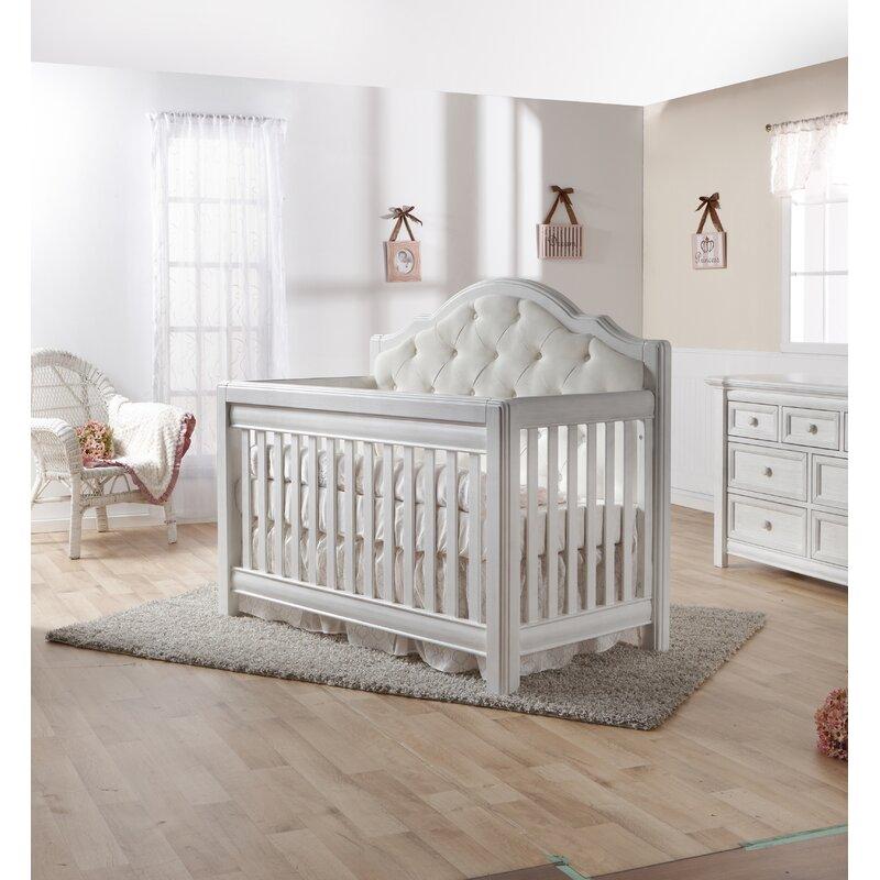 Cristallo Forever 4 In 1 Convertible Crib