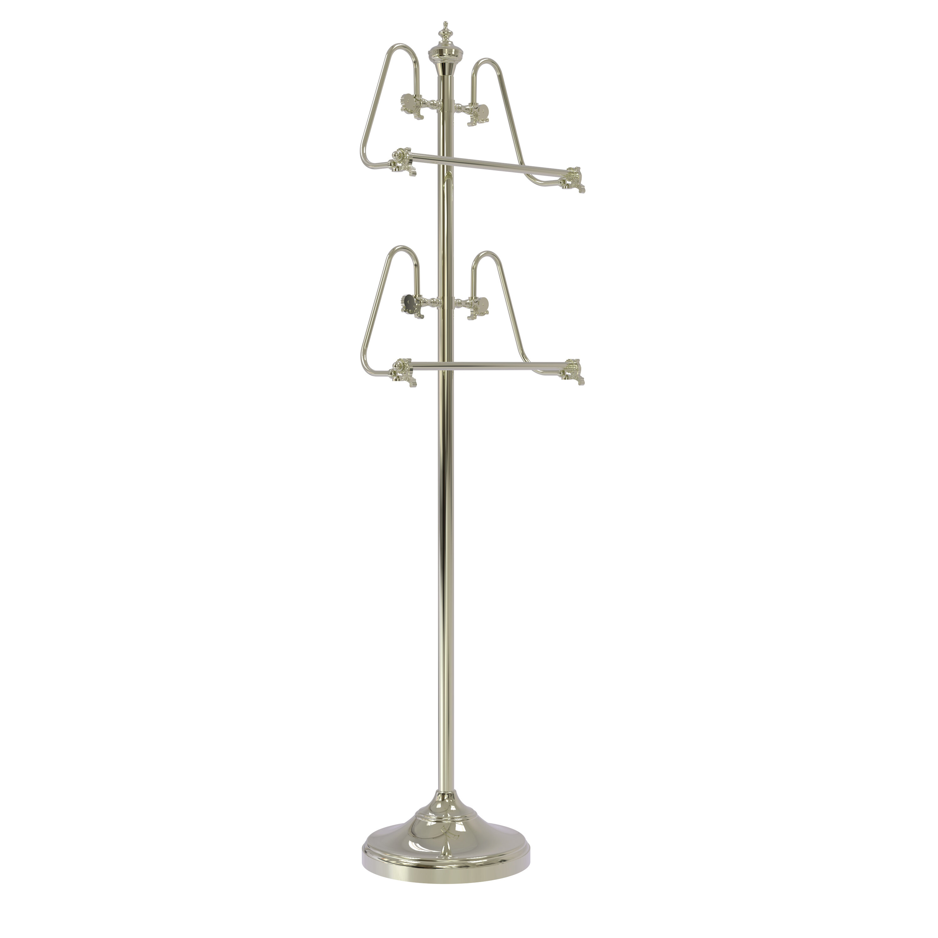 Polished Nickel Towel Stands Towel Bars Racks And Stands You Ll Love In 2021 Wayfair