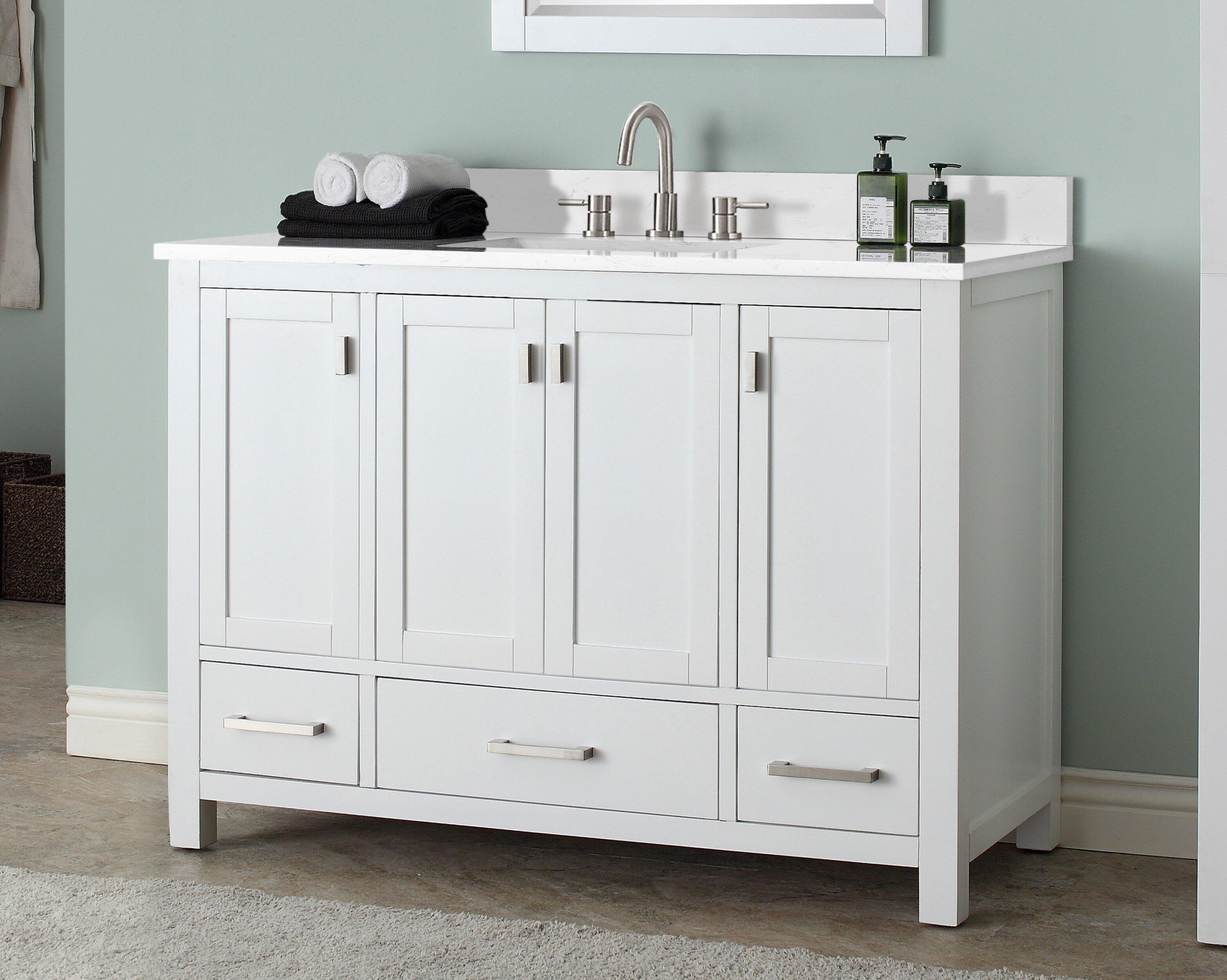 "Poyen 5"" Single Bathroom Vanity Set"