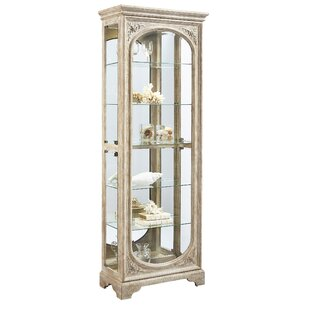 Ouzts Lighted Curio Cabinet