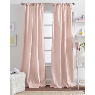 Pink Girls Curtains | Wayfair