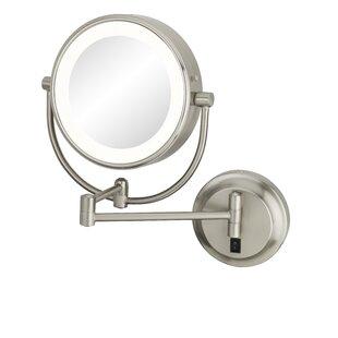 Orren Ellis Yadhu Modern Double-Sided LED Lighted Wall Mounted Mirror